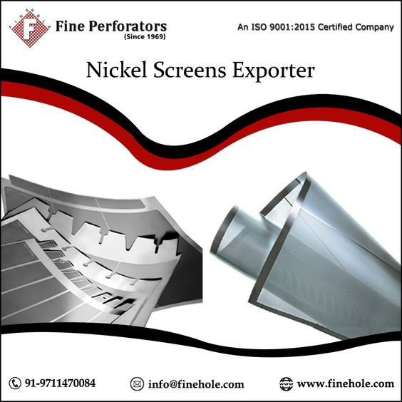 nickel mesh screen