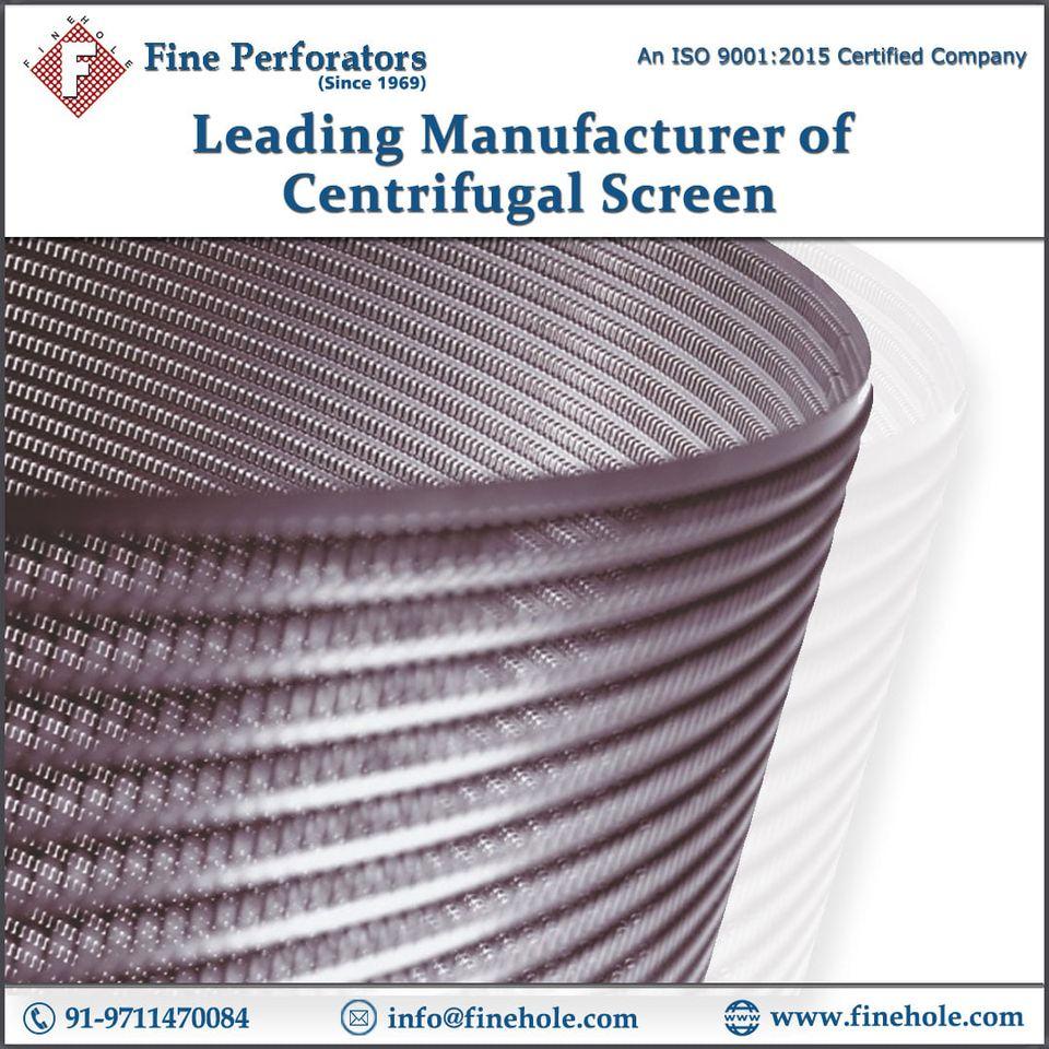 centrifugal screens